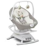 נדנדה חשמלית לתינוק 2 ב - 1 מדגם סנסה Sansa