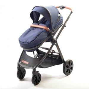 עגלת תינוק משולבת מדגם אקס ליין Xline מבית המותג אינפנטי infanti