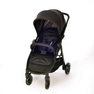 טיולון לתינוק מדגם אמרלד מבית אינפנטי Infanti - עם גגון ליקרה גדול ומתארך