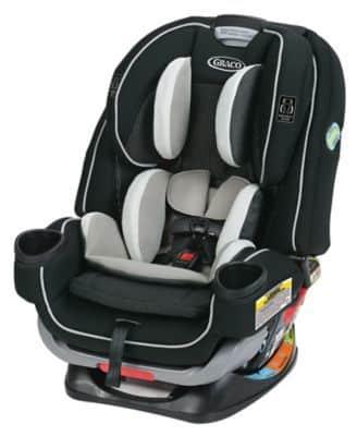 כיסא בטיחות גרקו - 4Ever Extend2Fit צבע אפור Clove Graco