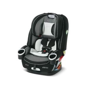 כיסא בטיחות פוראבר דלוקס 4EVER DLX - אפור כהה/ אפור בהיר Graco
