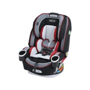 כסא בטיחות 4Ever שחור פס אדום Cougar Graco