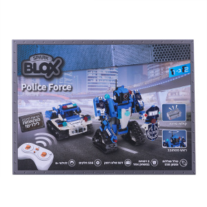 BloX טכניקס רובוט שוטר שלט רחוק
