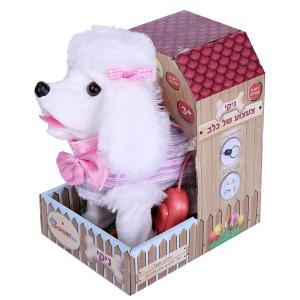 ניקי צעצוע של כלב דובר עברית