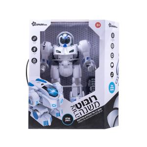 רובוט משנה צורה+שלט רחוק